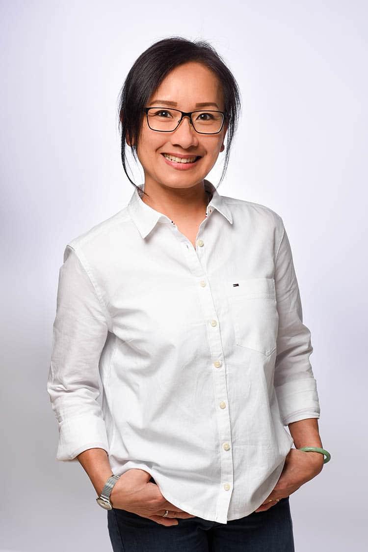 Bild: Ansprechpartnerin Thi Ho-Cao